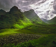 Glencoe, ScotlandScotland, Glencoe, Favorite Places, Scottish Highlands, Dreams Vacations, Green, Beautiful Places, Places I D, Travel