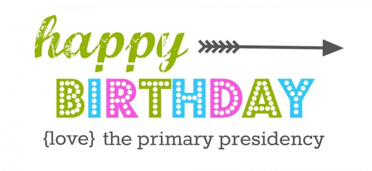 Primary Birthday Tags:  FREE Printable for both the Presidency and Teachers!  #primary #simplykierste