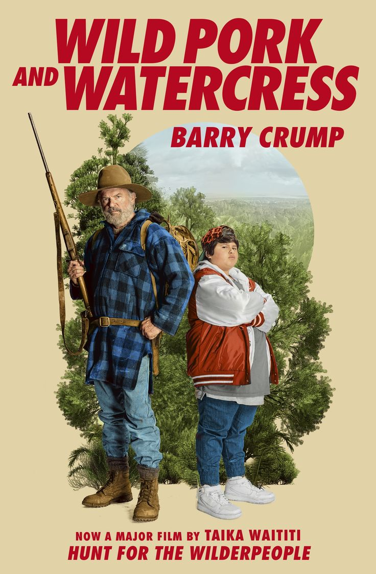 Barry Crump's 1986 novel 'Wild Pork and Watercress'