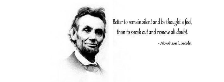 Abraham lincoln quote facebook cover pics-Celebrities