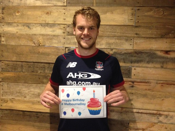 AFL Melbourne Football Club player Jack Watts. #MelbourneDay #MelbourneFC