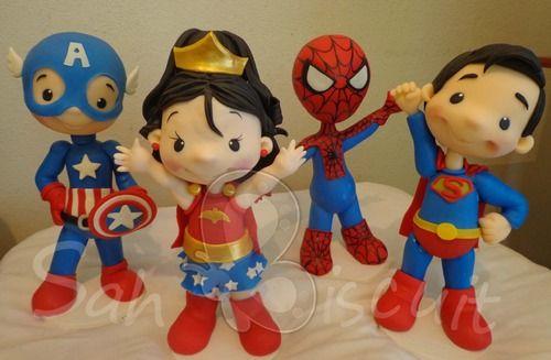 Super Heroes Kids! - Sah Biscuit - Terra Fotolog, clay.
