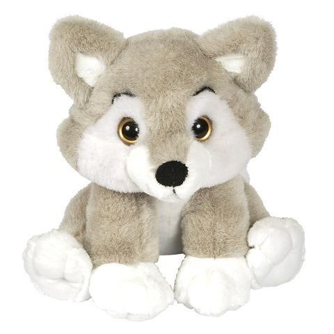 12-inch Zoo Crew Wolf Stuffed Animal
