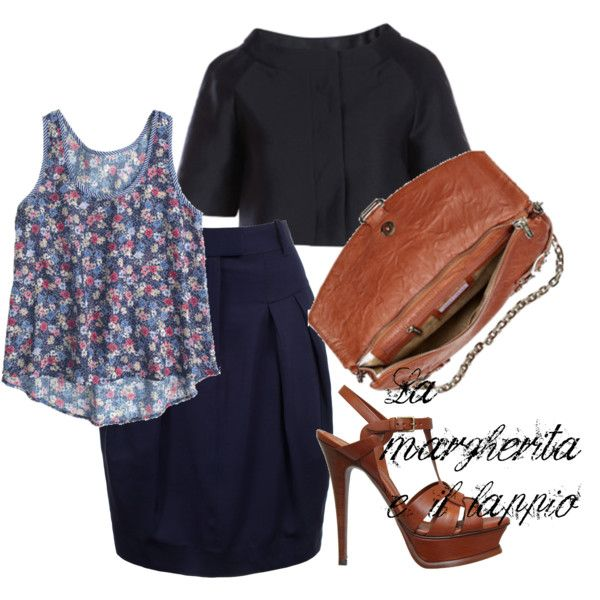 flower print top, as something fresh and sophisticated
