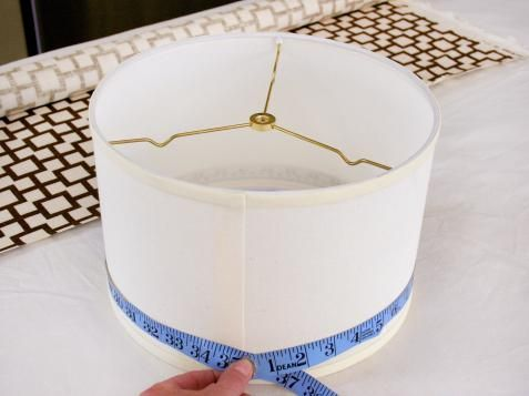 Learn how to create custom-made contemporary kitchen island lighting with fabric-covered shades at HGTV.com.