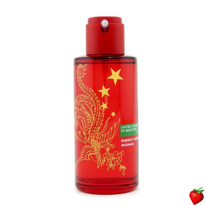 Benetton Energy Games Eau De Toilette Spray 100ml/3.3oz #Benetton #Perfume #GiftForHer #StrawberryNET #HolidayGift