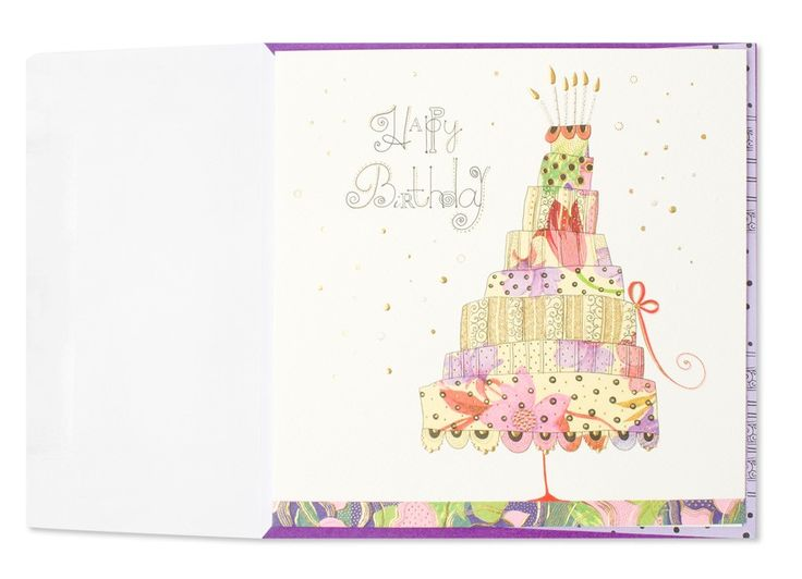 26 best papyrus cards images on pinterest papyrus cards tall layered cake birthday card bookmarktalkfo Gallery