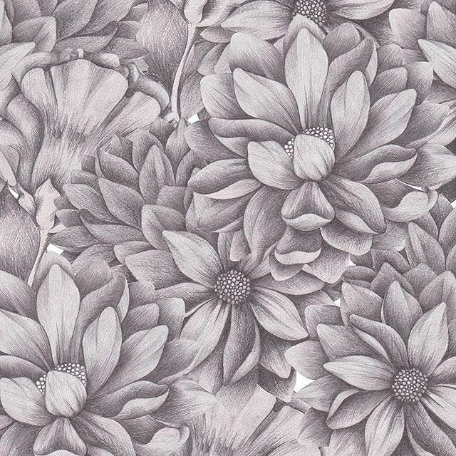 #newonpatternbank #patternbank #surfacepatterns #floral #floralpattern