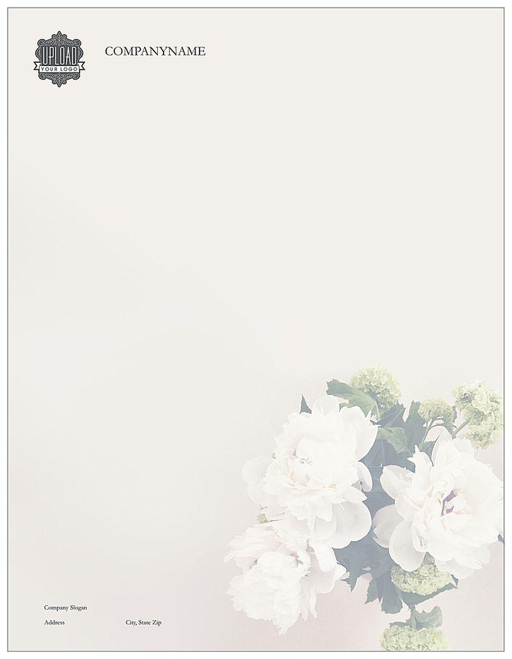 Hydrangea Elegance front - Letterhead Maker