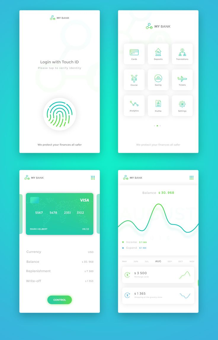mobile ui design