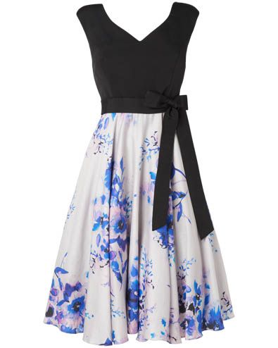 Amalfi Fit and Flare Dress - Race day outfit, race day look, race day dress - Perfect for Cheltenham, Epsom, Ascot