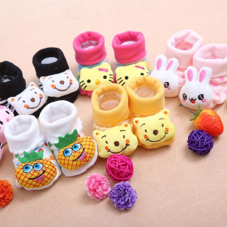 Купить 24 стиля прекрасные симпатичные новорожденный ребенок носки животных мультфильм кукла младенец носки модель анти слип мальчики девочки носкии другие товары категории Носкив магазине Aurelia Online Co.Ltd.наAliExpress. носок японии и носки спандекс