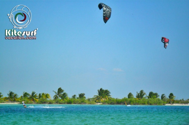 Kiteboarding and kitesurfing in San Felipe, Yucatan, Mexico More info: http://kitesurfvacation.com/?page_id=3495