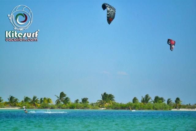 Kiteboarding and kitesurfing in San Felipe, Yucatan, Mexico More info: http://kitesurfvacation.com/?page_id=3495