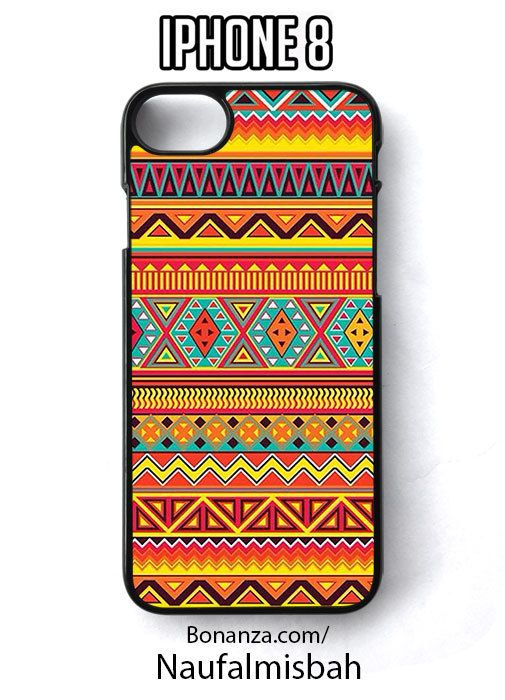 Peruvian Lines Pattern Inka Maya iPhone 8 Case Cover - Cases, Covers & Skins