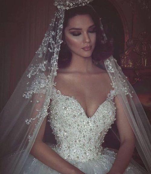 Imagem de dress, wedding, and bride