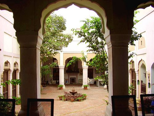 Haveli Courtyard, Lahore - Pakistan