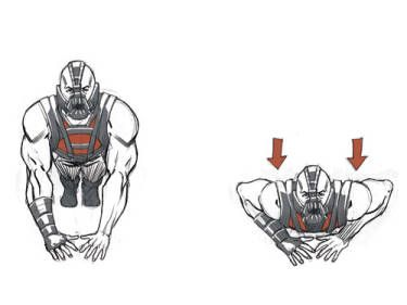 Tom Hardy's Bane workout