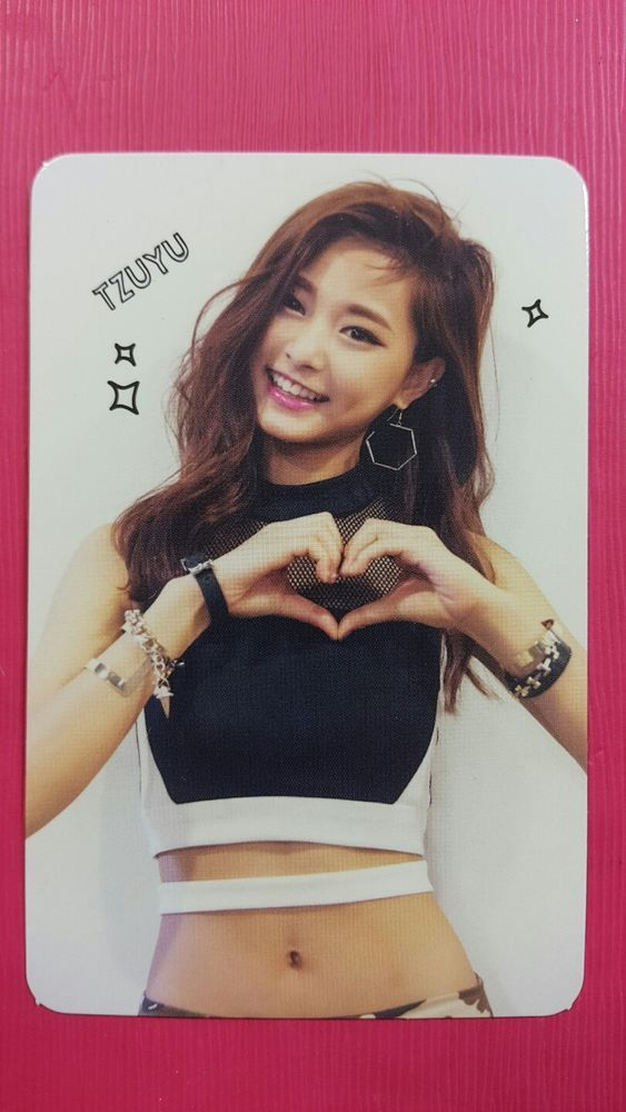 TWICE TZUYU Official Photocard Red (Adult) Ver. 1st Album The Story Begins