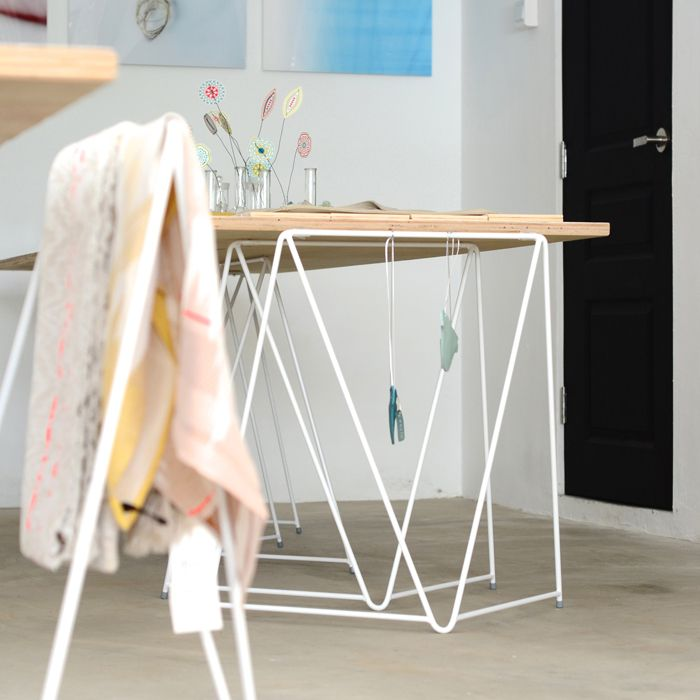 Perfect solution for every studio, shop, creative space, hub, co-working space, atelier, office, homeoffice, pop-up store, exhibition, installation or gallery.
