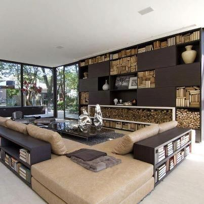 Home decoration...: modern living room // salones estilo moderno