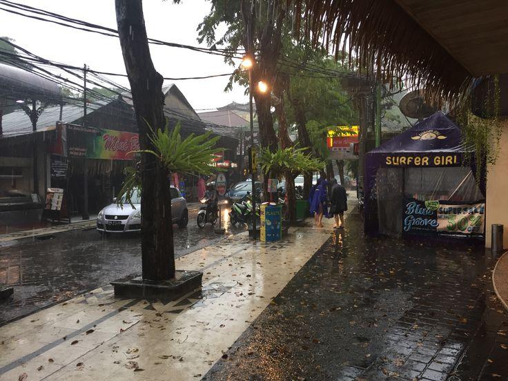Rainy day @ Kuta Square :)