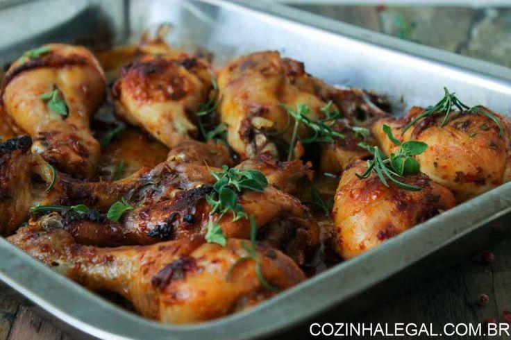 Coxas de frango assadas | Cozinha Legal