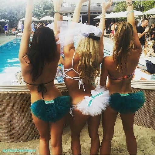 15 Pretty Perfect Bridal and Bachelorette Swimsuits