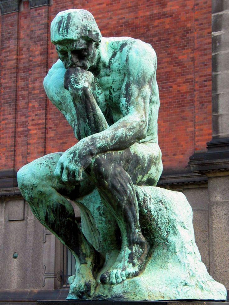 Il Pensatore, analisi e storia della famosa scultura di Auguste Rodin THE THINKER - PARIE
