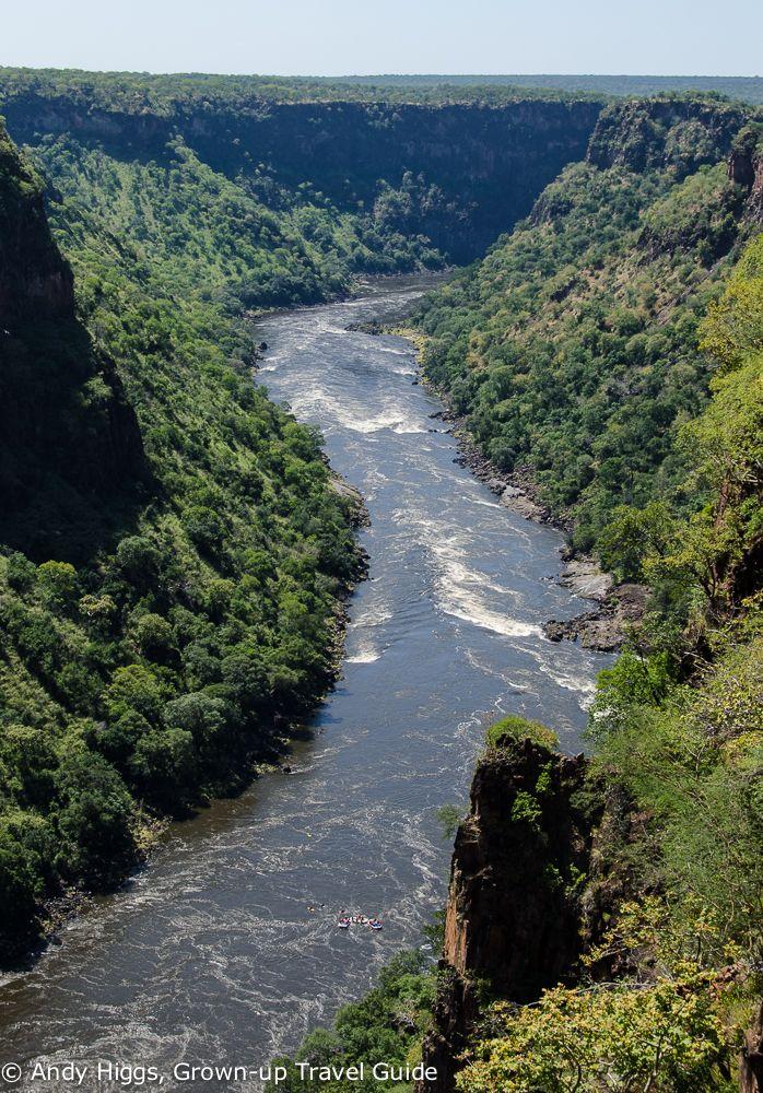 Grown-up Travel Guide Daily Photo: Zambezi River, Batoka Gorge, Zimbabwe