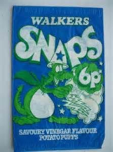My favourite flavour Walkers Snaps - savoury vinegar!