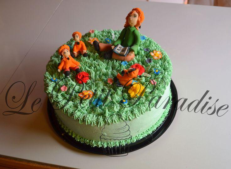♔ Peach Cake :  Parvularia Chic