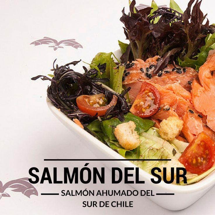 Salmón ahumado en caliente. Condimentado con especias del sur de Chile. salmondelsur.cl