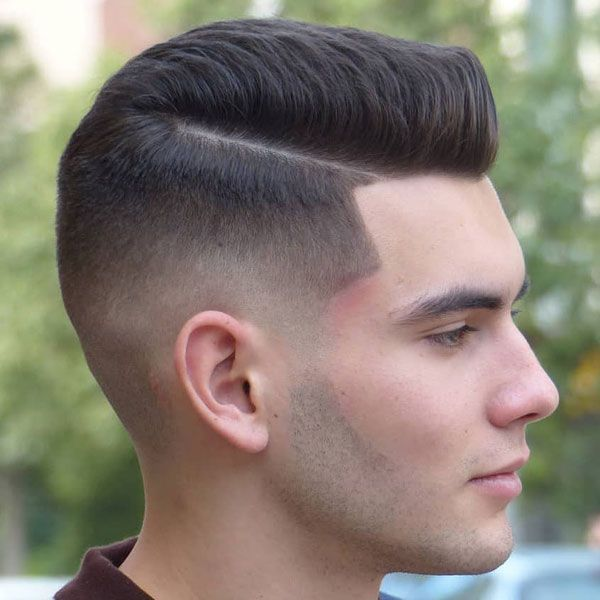 Taper Fade With Part Best Taper Fade Haircuts For Men Cool Men S Taper Fade Hairstyles Low High Mid Taper Fade Haircut Fade Haircut Mens Haircuts Fade