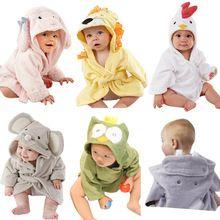 Moda caráter crianças bebê dos desenhos animados toalha de banho com capuz Animal modelagem bebê roupão de banho infantil toalhas YE0001(China (Mainland))