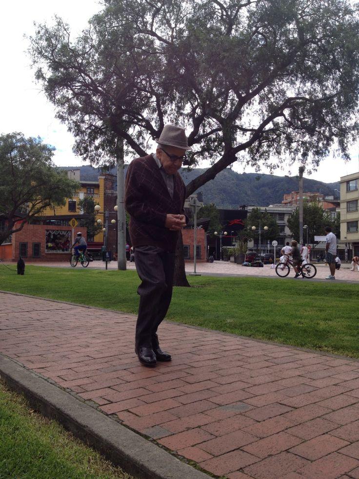 Bogotá old man