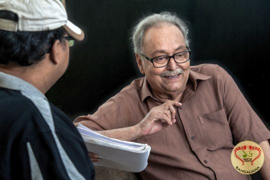 The best and probably the most consistent level of connection that one can draw up with Soumitra Chatterjee is humour. I have come across few people more gifted in this arena or as skilled a craftsman as he is. : http://sholoanabangaliana.in/blog/2014/01/19/soumitra-chatterjee-birthday-special-feature-80-plus-and-beyond-by-director-atanu-ghosh/#ixzz2qwwtqtIt