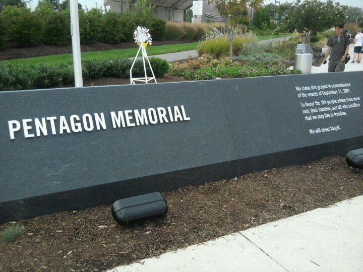 The Pentagon 9/11 Memorial in Arlington, VA