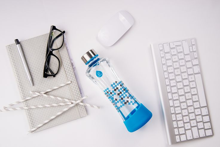 The CMYK collection was inspired by the CMYK color model, used in color printing. Add Color to Your Life: seek the moments where your day feels brighter and more colorful.  Add Cyan or greenish-blue color which reminds us of water, clean nature and clear skies. #equabottle #waterbottle #glassbottle #clearskies #nature #equa