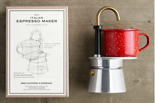 Походная мини эспрессо-машина.