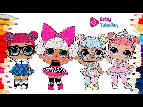 colouring lol surprise dolls colouring