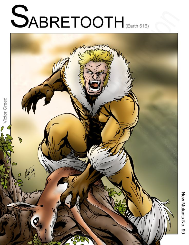 Sabretooth - Righteous Kill (Marvel Comics) Wolverine by Nickolas Lane
