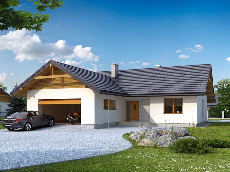 Projekt domu TP Abra 2 - DOM TP1-02 - gotowy projekt domu