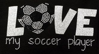 Hey, I found this really awesome Etsy listing at https://www.etsy.com/listing/179910804/soccer-mom-rhinestone-tshirt-bling