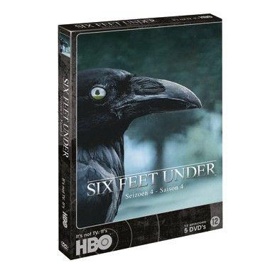DVD 5-Box Six Feet Under seizoen 4  Ook seizoen vier zal zonder twijfel leiden tot de meest grappige momenten. Een serie waarin dood en disfunctie tot de normaalste gang van zaken behoort en de zwarte humor blijft.  EUR 24.99  Meer informatie