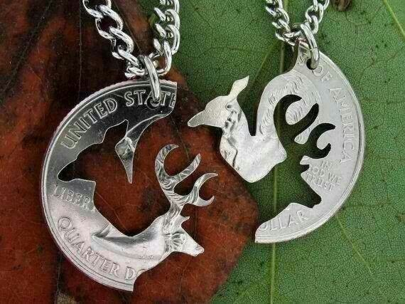 this is cool one for each .... doe and buck