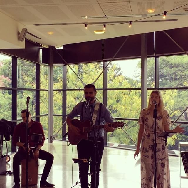Chelsea, Baldi & Joe showcasing some ceremony songs at the National Wine Centre Open Day yesterday 🌸👌🎤 #adelaideweddings #allabouther #aliciakeys #evedeso #eventdesignsource - posted by All About Her https://www.instagram.com/allaboutherband. See more Wedding Designs at http://Evedeso.com