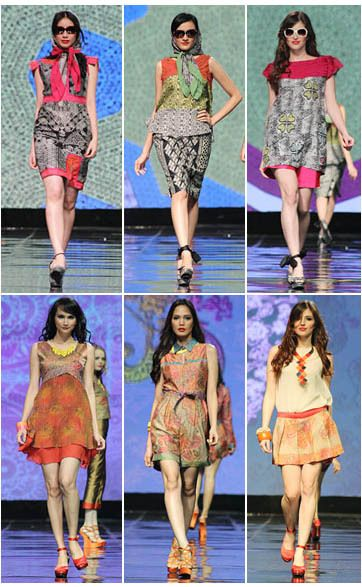 Indonesian Batik : fresh and young