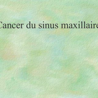 Cancer du sinus maxillaire   Plan I. Introduction II. Rappel anatomique III. Épidémiologie IV. Anatomopathologie V. Étude clinique VI. Classification VII.. http://slidehot.com/resources/cancer-du-sinus-maxillaire.63566/
