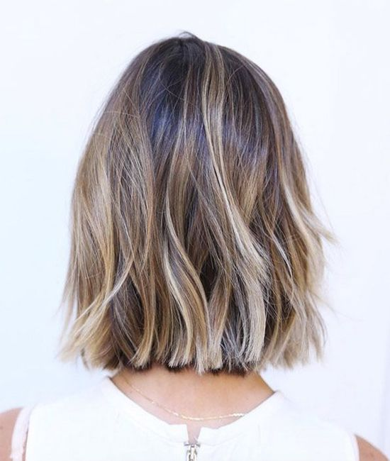 Bob Hairstyle Trends Choppy Blunt Wavy Low Maintenance